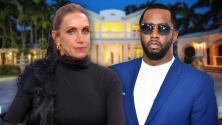 """""""Cuídame la casita"""": el mensaje de Lili a P. Diddy, quien compró la mansión que su tío Emilio vendía en Miami"""