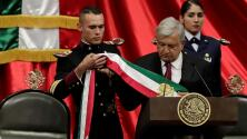 Así fue la transferencia de banda presidencial de Enrique Peña Nieto a Andrés Manuel López Obrador