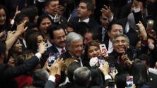 El caos en el Congreso a la llegada de AMLO para la toma de posesión en México