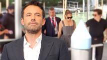 Ben Affleck llegó separado de JLo al primer evento de su nueva película en Venecia