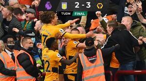 ¡Raulito de la suerte! Wolverhampton gana con el mexicano al Aston Villa