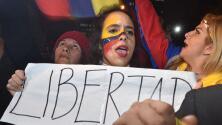 Maduro es perseguido por una protesta en Venezuela