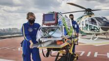 Hospital de Houston recibe a dos bebés trasladados desde Louisiana por efectos del huracán Ida