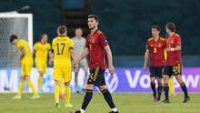 Laporte expresó su molestia tras el empate ante Suecia