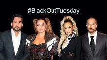 Los famosos latinos se unen al '#BlackOutTuesday' en protesta contra el racismo