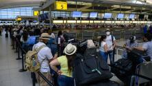 Cifra récord desde que inició la pandemia: Más de siete millones de personas viajan en avión durante el 'Memorial Day'
