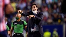 Solari destaca al 'héroe' ante el San Luis, Roger Martínez
