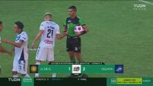 Con doblete de Diego Jiménez, Celaya supera de visita a Leones Negros