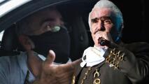 Vicente Fernández Jr. estalla ante los rumores de que podrían dar a su padre de alta del hospital