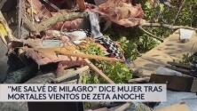 """""""Me salvé de milagro"""": dice hispana que dormía en el cuarto donde cayó el árbol que mató a un joven de 22 años."""