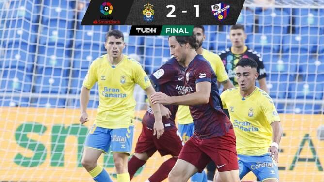 Nacho Ambriz sufre su primera derrota con el Huesca
