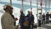 Un sistema con potencial de convertirse en tormenta tropical tiene en alerta a las autoridades en Surfside