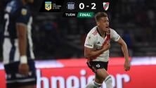 Resumen: River Plate borra a Talleres de Córdoba