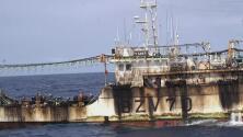 Barcos chinos explotan sin control las aguas del hemisferio sur