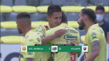 Atlético Morelia vence al Atlante con un cabezazo de Diego Abella