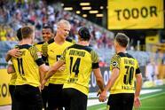 Borussia Dortmund, sin piedad, golea al Frankfurt 5-1 en el primer partido de temporada. Reus (23'), Hazard (32') y Reyna (58') sumaron un tanto al marcador, mientras que Erling Haaland anotó doblete durante el encuentro. Felix Passlack anotó autogol al 27', mientras que Jens Petter Hauge anota el segundo tanto al 86'. <br>