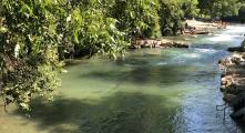 Este río con agua cristalina en centro de Texas siempre tiene temperaturas en los 72 grados