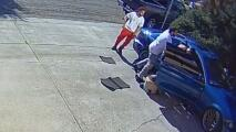 Lavaba su auto a plena luz del día cuando dos sujetos le pusieron una pistola en la cabeza