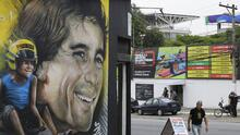 Con gigante mural de Senna celebra 80 años Interlagos