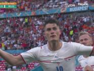 ¿Se despide Países Bajos? Holes centra y Patrik Schick fusila para el 0-2