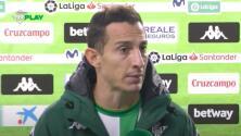 Andrés Guardado dice que el Real Betis deja sensación de equipo frágil