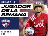 Tras 'hat-trick' ante LA Galaxy, Ricardo Pepi es el Jugador de la Semana