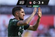 Santos humilla 0-3 a Necaxa en su presentación dentro del Apertura 2021