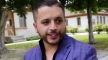 Jesús Mendoza se presentó en la corte para responder a la demanda de la madre de su hijo por violencia doméstica