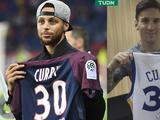 Stephen Curry aplaude a Lionel Messi por utilizar el número 30 con el PSG