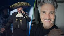 Jaime Camil, emocionado, presenta las primeras imágenes caracterizado como Vicente Fernández