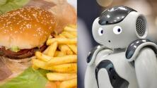 Cadena de comidas rápidas está probando robots para atender a los clientes