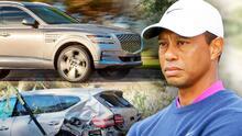 Así es la camioneta en la que Tiger Woods se accidentó y que pudo salvarle la vida