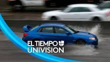 """""""Maneje con cuidado"""": el llamado de autoridades en Los Ángeles para evitar accidentes durante la tormenta"""