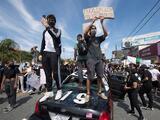 Incendios y saqueos en Los Ángeles y otras ciudades de California en las protestas por la muerte de George Floyd