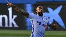 ¡Debut soñado! Depay se estrena como goleador del Barcelona