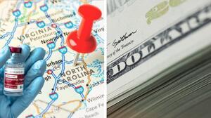 Tarjeta de $ 25 por la vacuna del covid-19: amplían incentivos en estos condados de Carolina del Norte