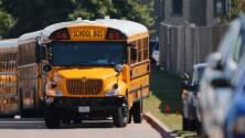 ¿Qué recomendaciones de seguridad deben seguir los conductores que manejan cerca de los autobuses escolares?