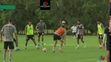 ¡Susto para Tigres! Florian Thauvin sufre torcedura en el entrenamiento