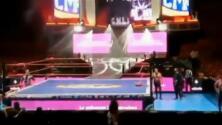 Sismo en México detiene una función de lucha libre en una arena de la capital mexicana