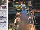 En fotos: Antes y después de las inundaciones en el noreste de EEUU