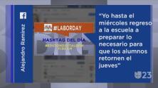 #LaborDay y otras tendencias en la red