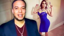 """""""Fue dieta y zipper en la boca"""": ex de Lorenzo Méndez responde a los que dicen que se operó para bajar de peso"""