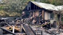 Investigan fuego en una casa en Lockhart que dejó un muerto y un herido