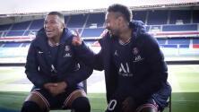 Mbappé y Neymar se apoyan entre sí para ganar el Balón de Oro
