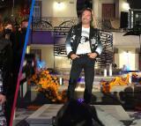 Marco Antonio Solís debutó junto a sus hijas como modelo de pasarela