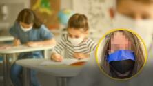 """""""Les están pegando las mascarillas a los morritos"""": Indignación por abuso de maestros en una escuela"""