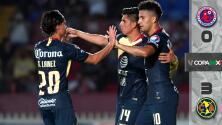 Veracruz 0-3 América - RESUMEN Y GOLES - Jornada 4 - Copa MX - Apertura 2018