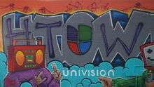 Crean mural en honor a Univision 45 Houston