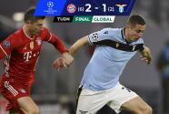 Bayern Munich aplastó a la Lazio, completó la obra y calificó a Cuartos