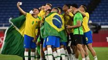 """De Pelé para Brasil tras conseguir el oro: """"Es maravilloso"""""""